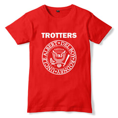TROTTERS / RAMONES Only Fools & Horses Inspired Parody T-Shirt - eightbittees