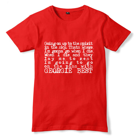 George Best Chant / Manchester United T-Shirt - eightbittees