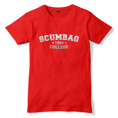 The Young Ones Silver SCUMBAG COLLEGE T-Shirt - eightbittees