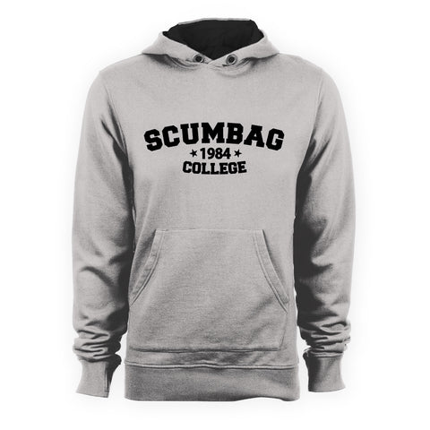 The Young Ones SCUMBAG COLLEGE Inspired Hoodie - eightbittees