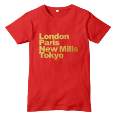 London Paris NEW MILLS Tokyo T-Shirt - eightbittees