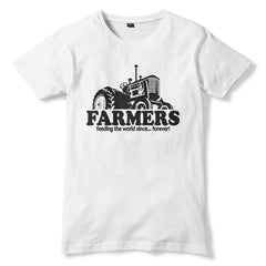 FARMERS Feeding The World T-Shirt - eightbittees