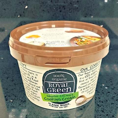 Royal Green Odourless Cooking Cream 250 ml