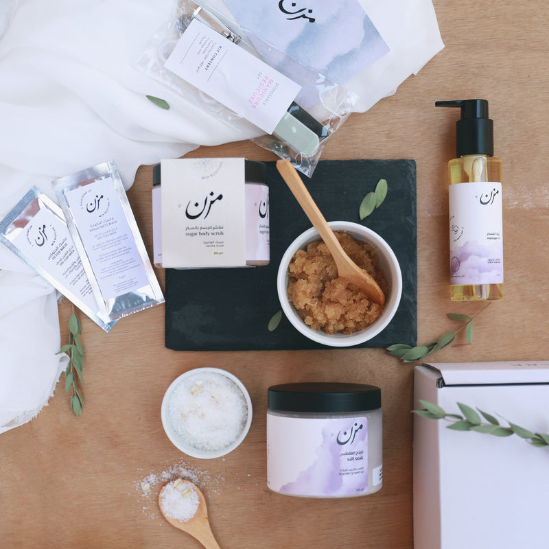 Glow at Home set - MZN Bodycare