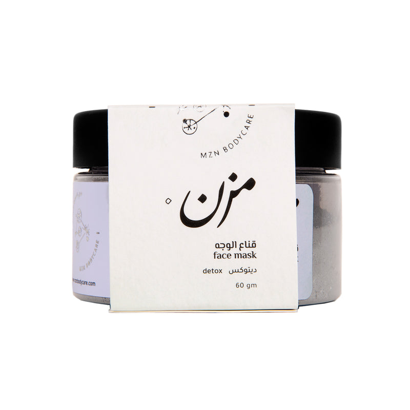 DETOX Face Mask - MZN Bodycare