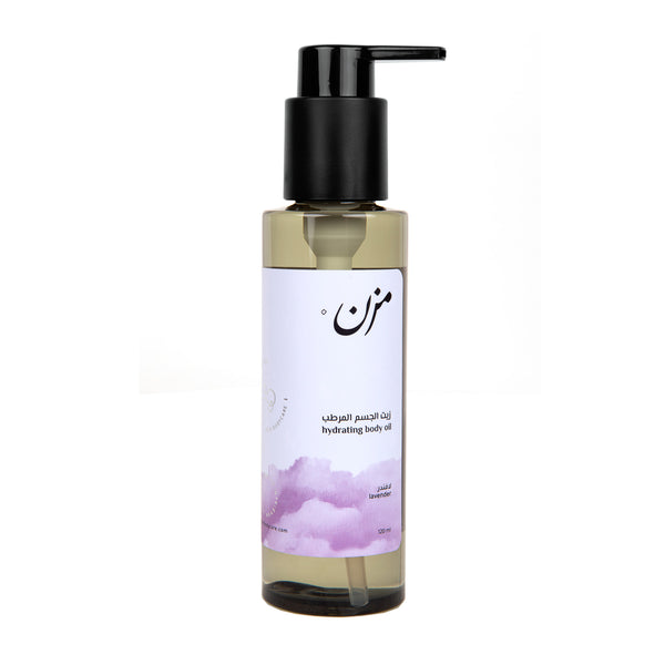 LAVENDER Body Oil - MZN Bodycare