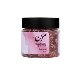 ROSE Lip Scrub | مقشّر الشفاة بالورد - MZN Bodycare