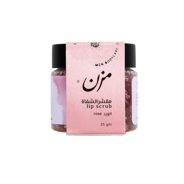 ROSE Lip Scrub - MZN Bodycare