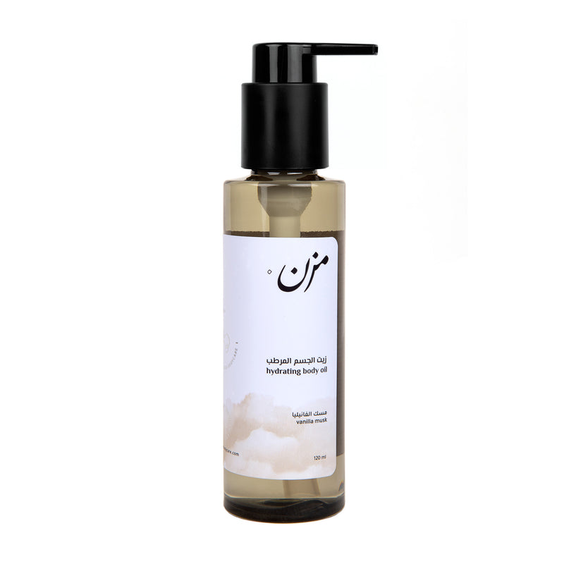 VANILLA MUSK Body Oil - MZN Bodycare