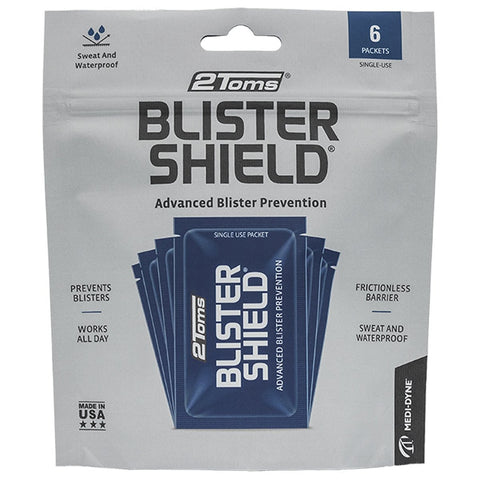 2Toms BlisterShield Packet, 6 Pack