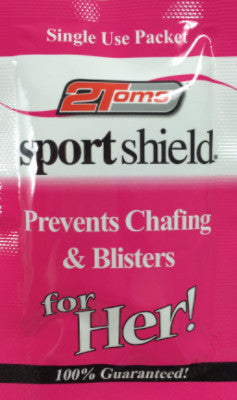 2Toms SportShield for HER! Towelette trial sample sachet
