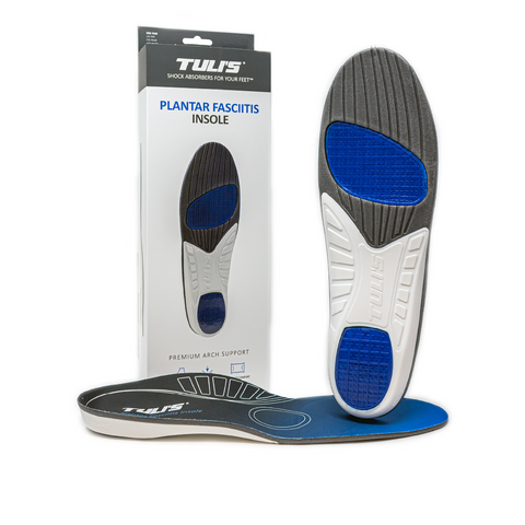 TULI'S PLANTAR FASCIITIS INSOLES (Replaces Gaitors Full Length Insole)