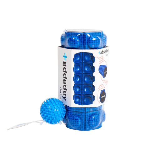 ADDADAY HEXI FOAM ROLLER WITH FOOTY SET
