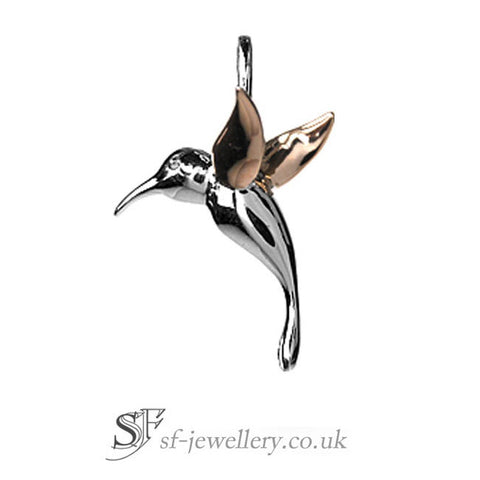 sterling tdw hummingbird product jewelry watches necklace diamond j silver pendant k