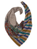 Natural Shade Pashmina Stole with Kalamkari Paisley Motifs