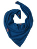 Blue Pure Pashmina Stole with Butterfly Booti