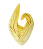 Dual shade yellow pashmina