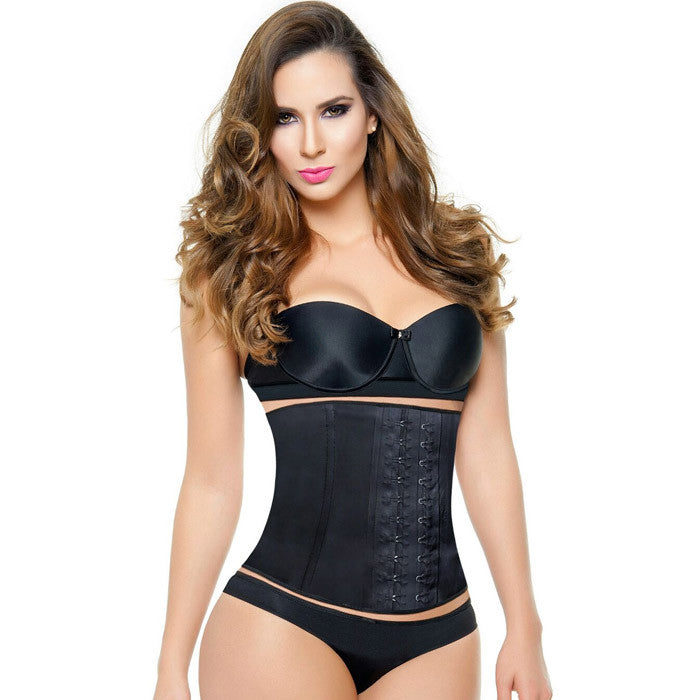 Aggressive SHORT 2 Hook Black Waist Trainer