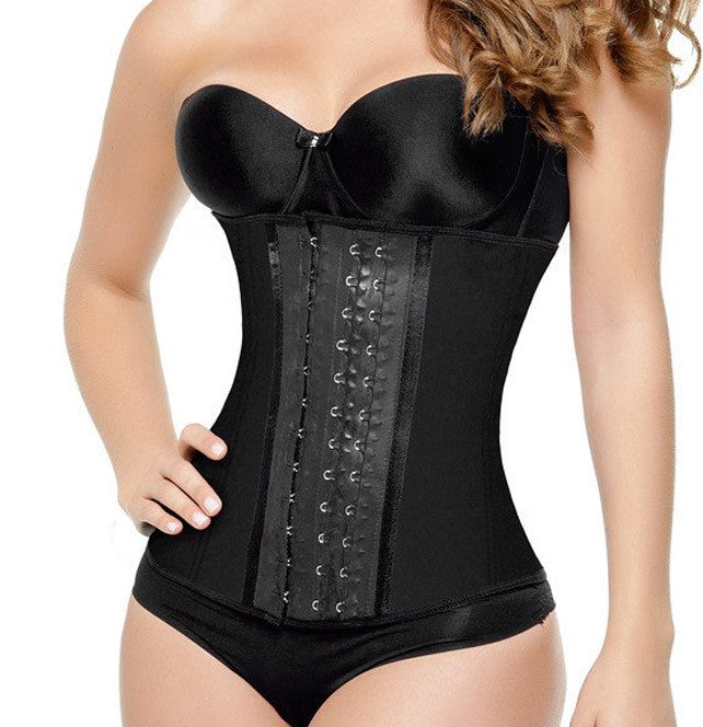 Workout Long Black Waist Trainer