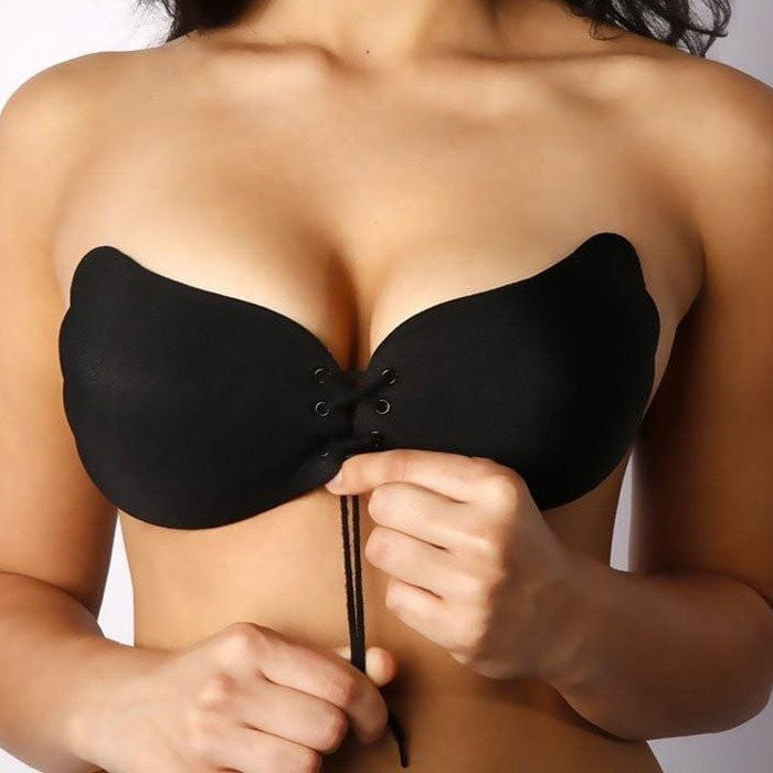 strapless stick on bra