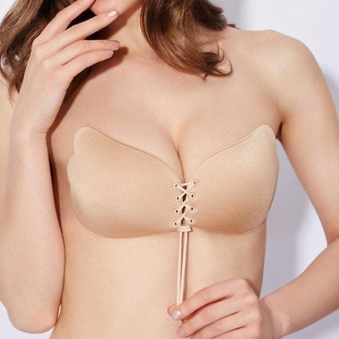 Push-Up Strapless Bra