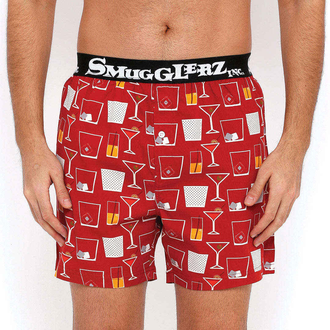 THE COCKTAIL JACQUARD PARTY PACK - (Pack of 2 pc Boxers)