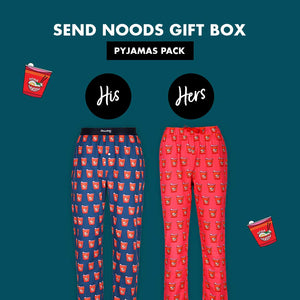 Send Noods Couple Pajama Gift Pack
