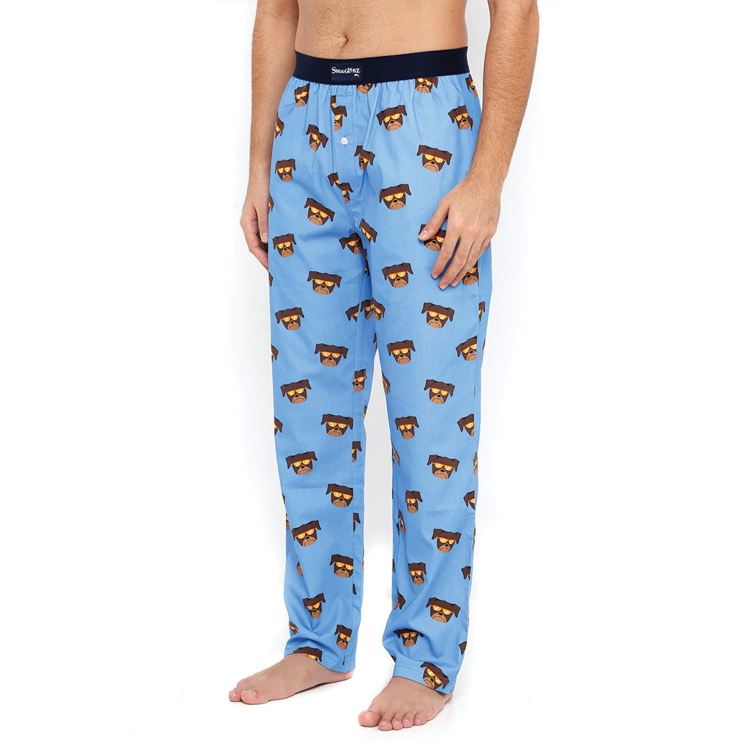 Pug-Blue-Pajamas