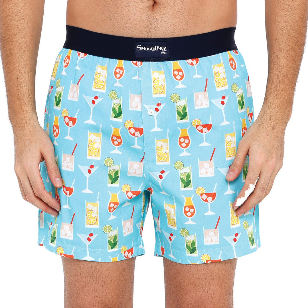 Summer Cocktails-Blue-Boxers