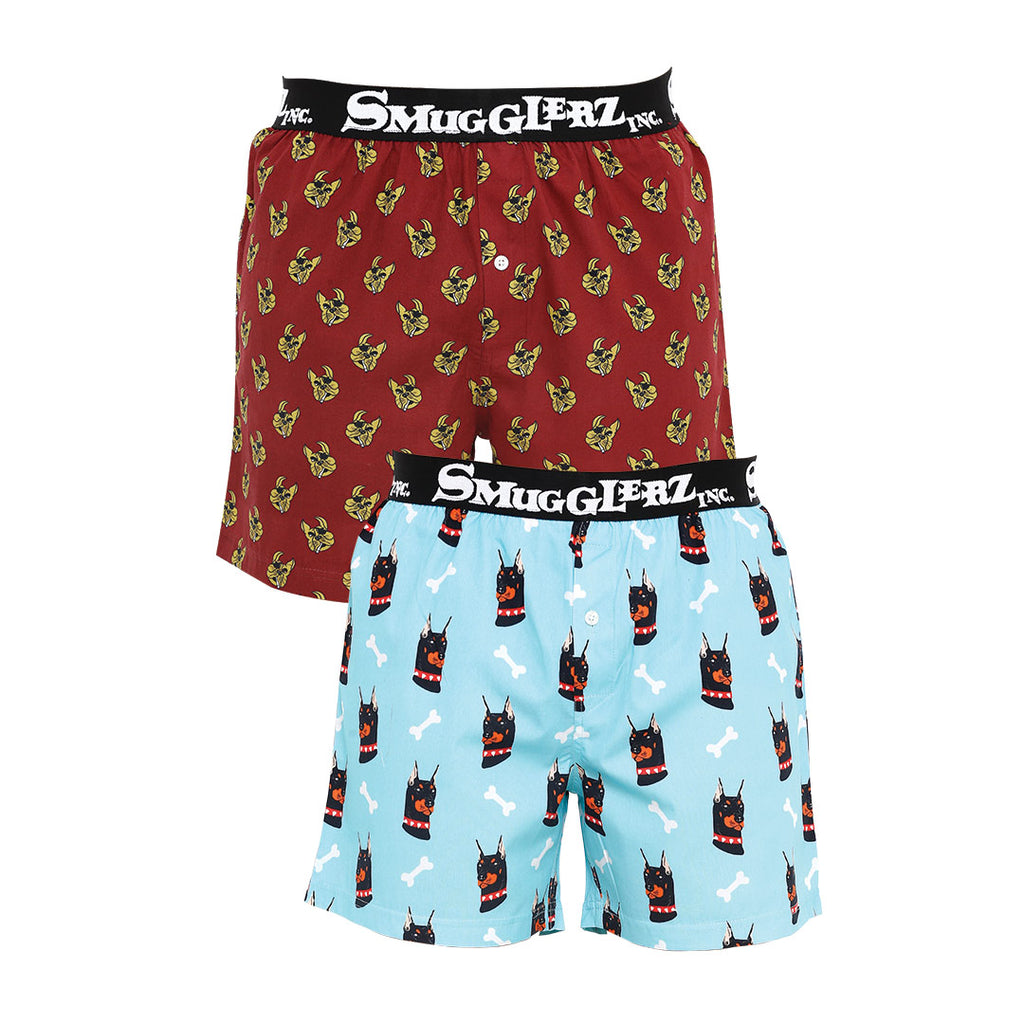 THE DOG PACK JACQUARD - (Pack of 2 pc Boxers)