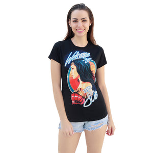 WOMEN'S-WW84-WELCOME TO THE 80'S-T-SHIRT