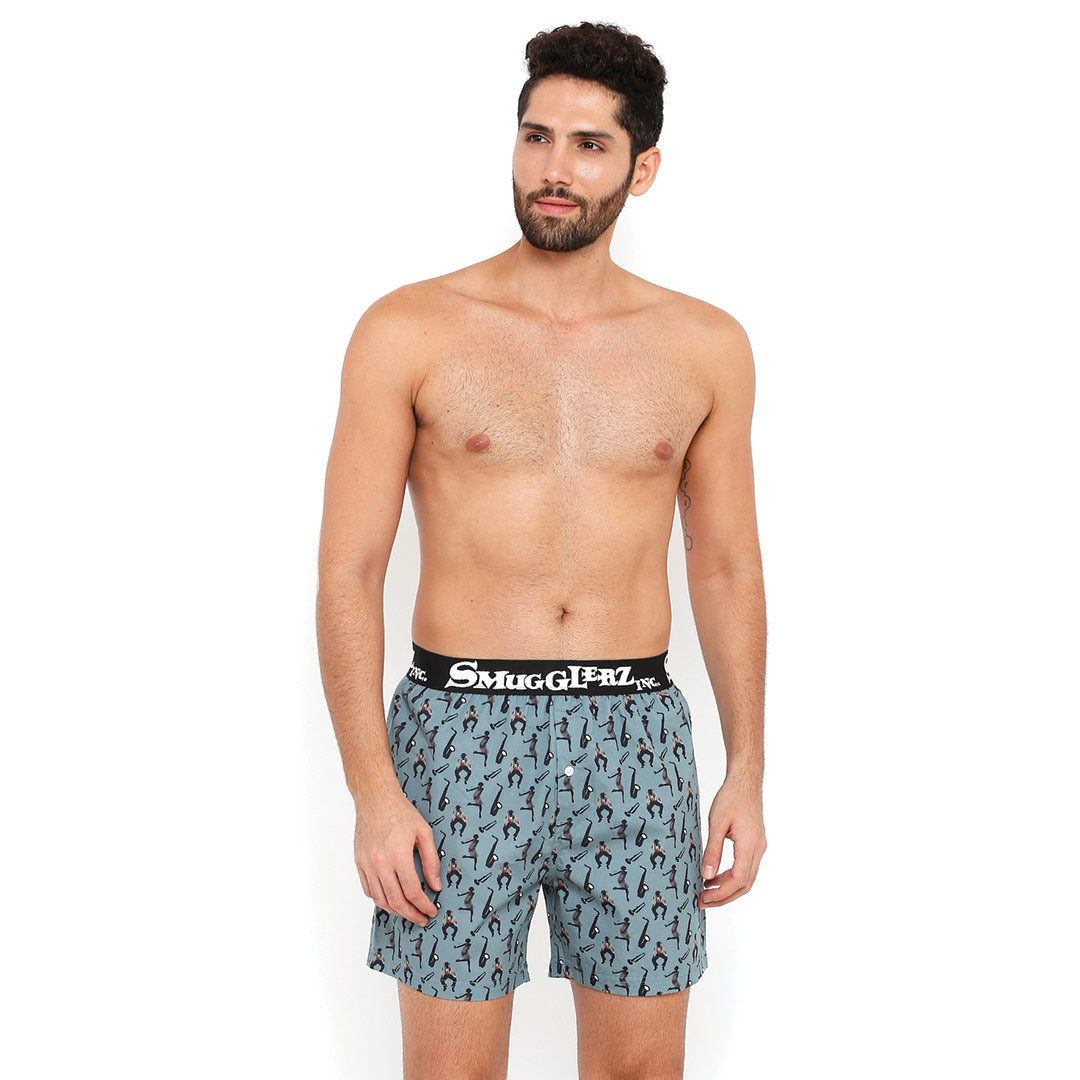 JAZZ PARTY PACK JACQUARD - (Pack of 2 pc Boxers)