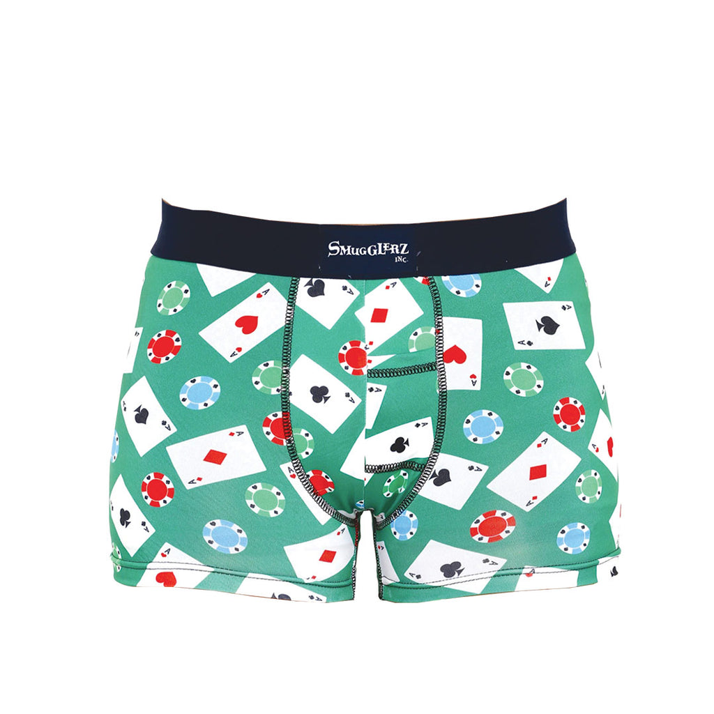 Cards & Casino Chips-Green-Smundies