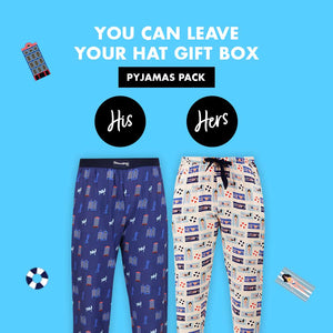 You Can Leave Your Hat on Couple Pajama Gift Pack
