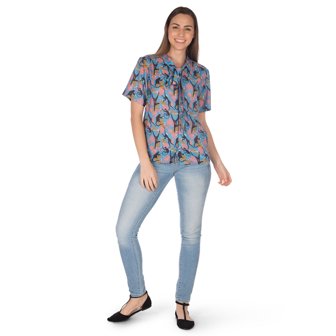 Women's-Monkeying Around-Top
