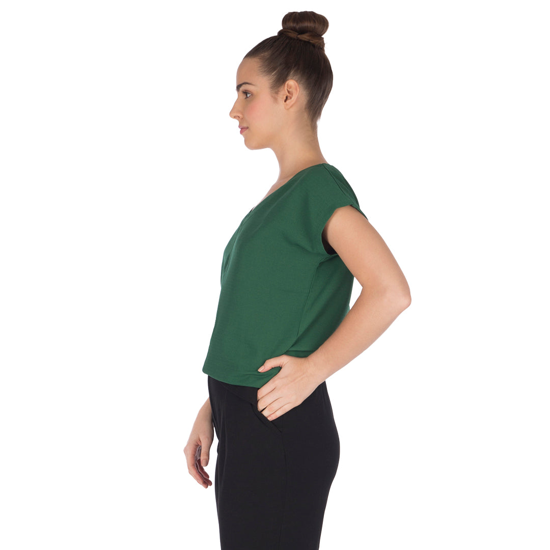 Women's Emerald Green-Top