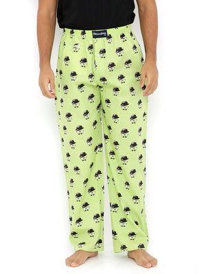 Faces - Green - Pyjamas