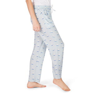 Women's-Pyjamas-Sailboat-Blue