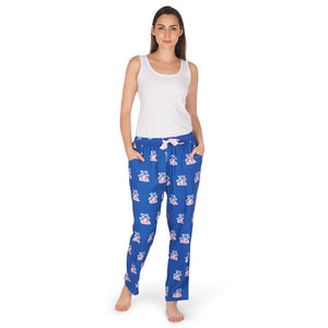 Women's-Pyjamas-Palm Tree-Navy