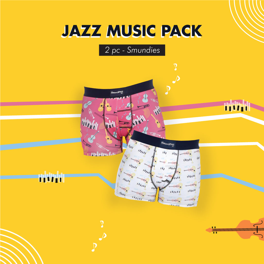 JAZZ MUSIC PACK - (Pack of 2 pc Smundies)