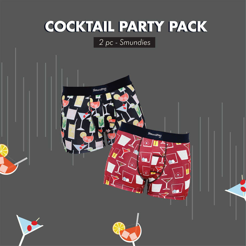 THE COCKTAIL PARTY PACK - (Pack of 2 pc Smundies)