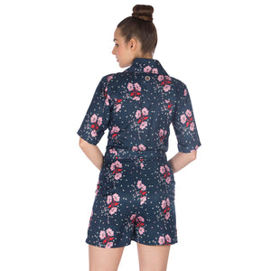 Women's-Night Flower-Jumpsuit