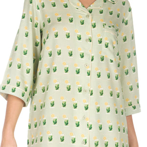 Women's-Mohito-Sleep Shirt-Green