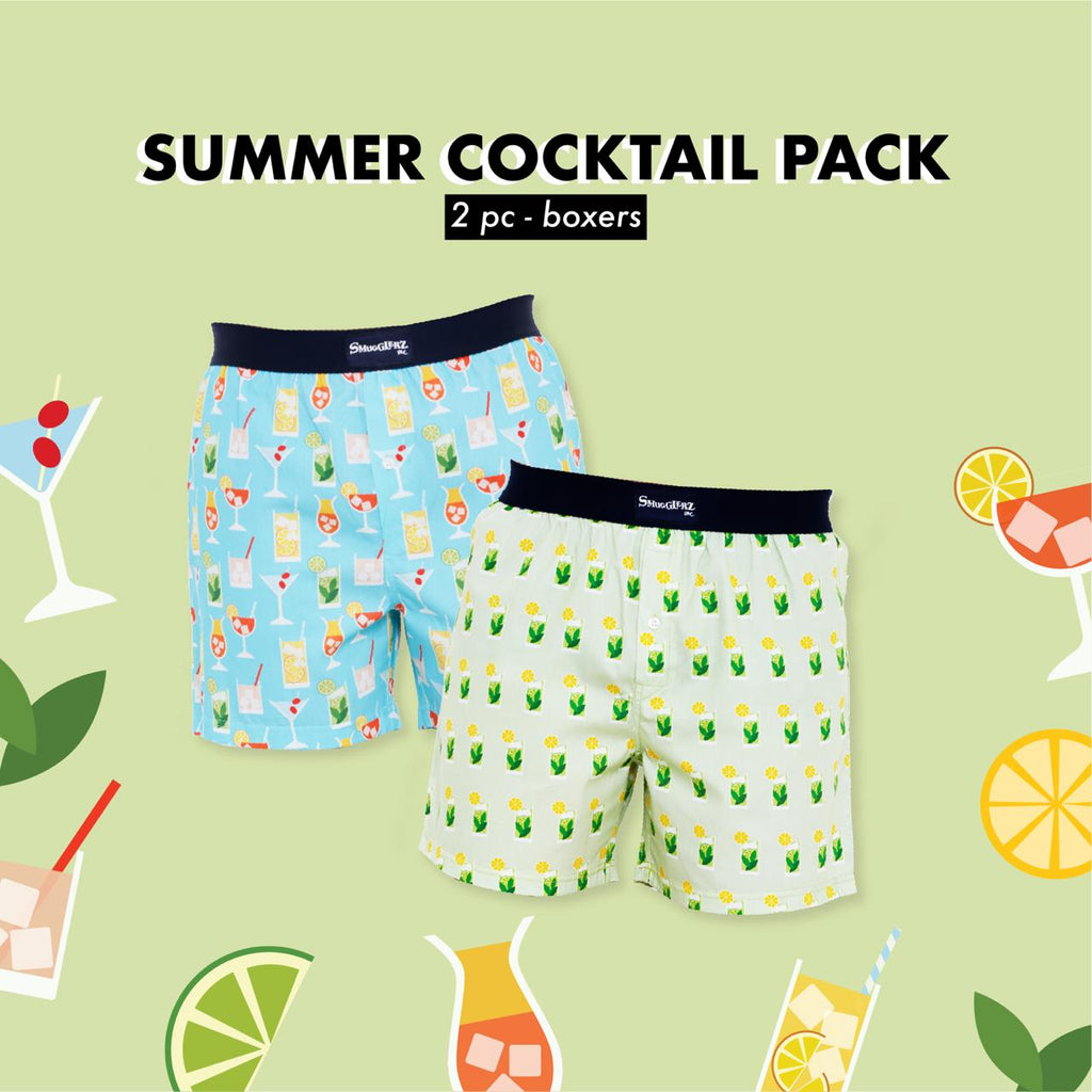 SUMMER COCKTAIL PACK - (Pack of 2 pc Boxers)