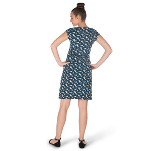 Women's-Free Birds-TENCEL™ Dress