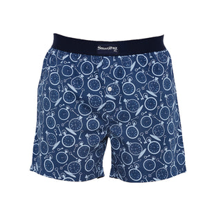 Pocket Watch-Navy-Boxers