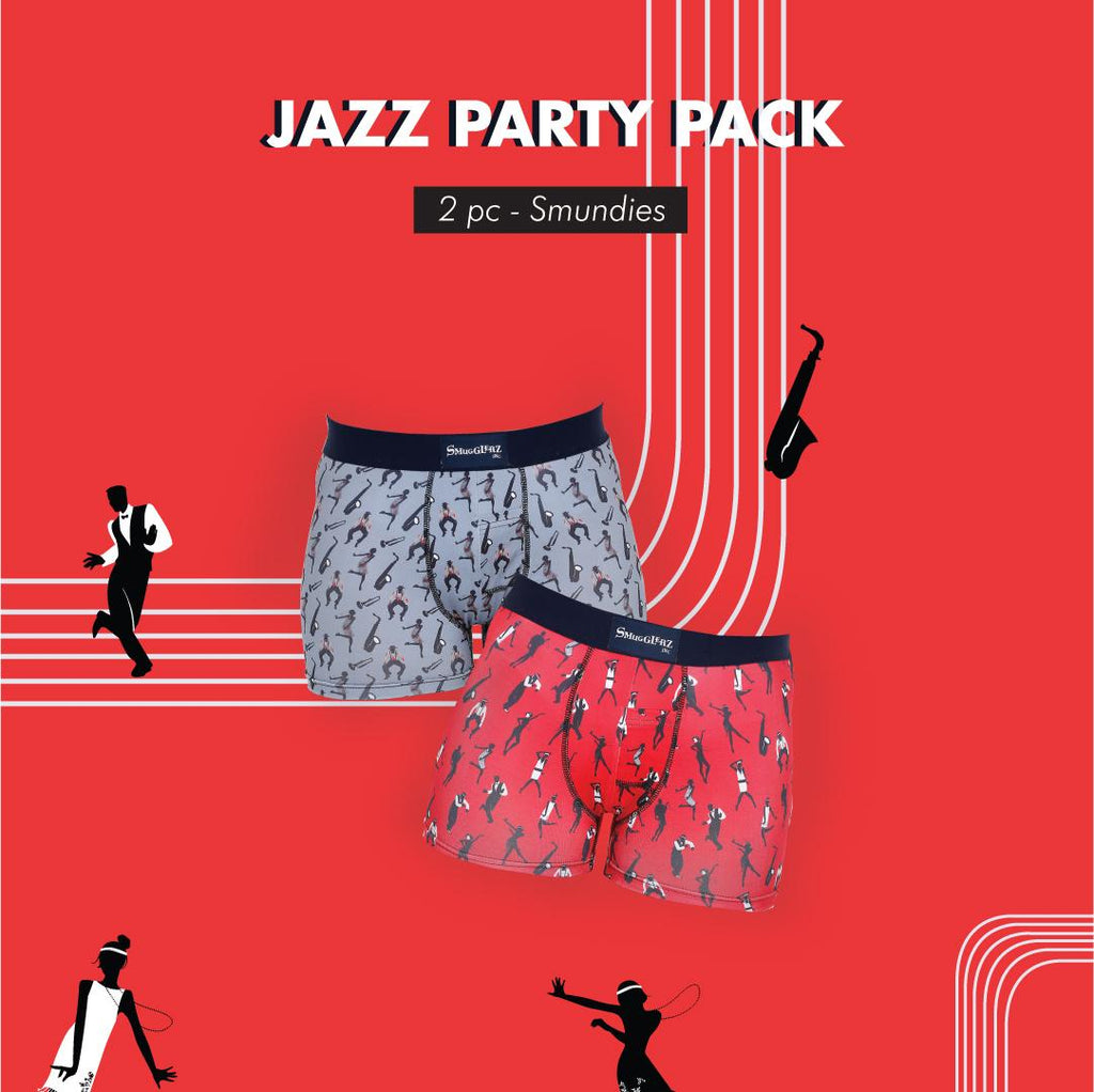 JAZZ PARTY PACK - (Pack of 2 pc Smundies)
