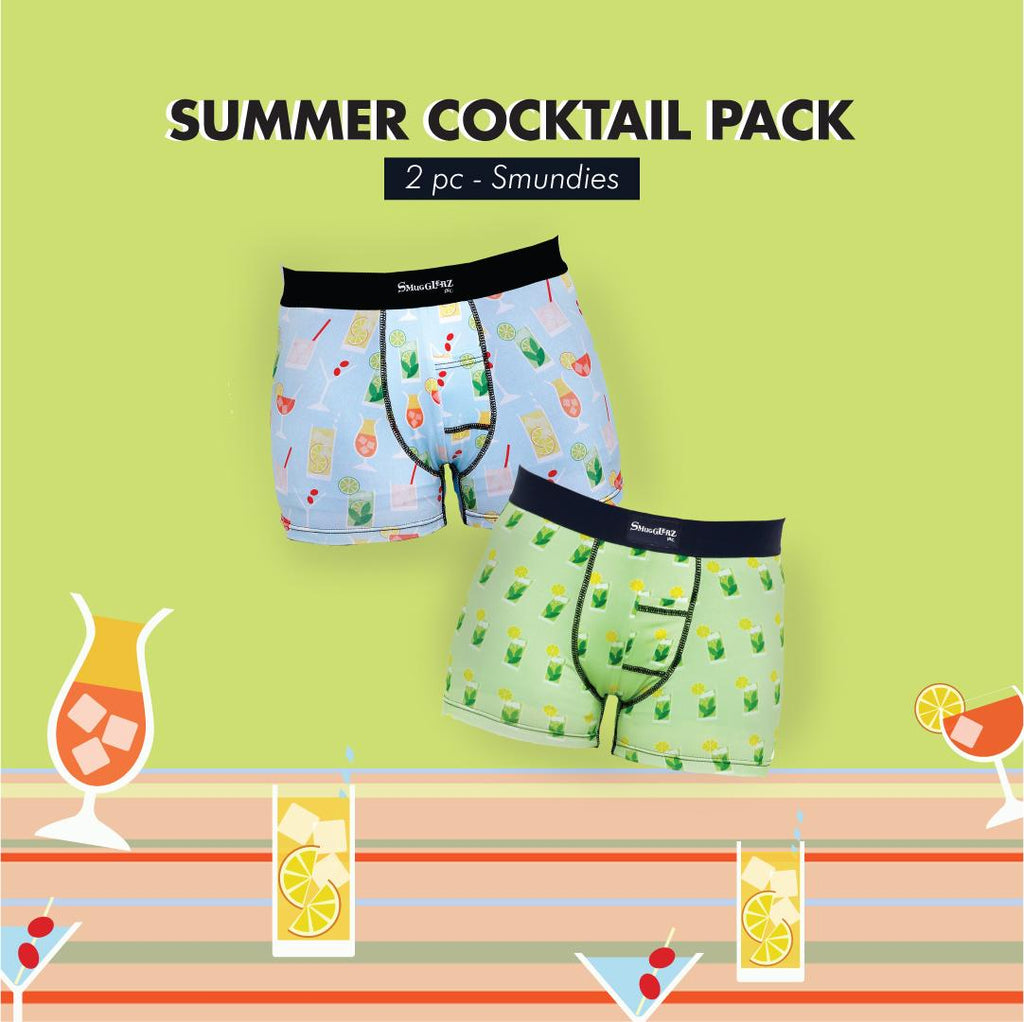 SUMMER COCKTAIL PACK - (Pack of 2 pc Smundies)