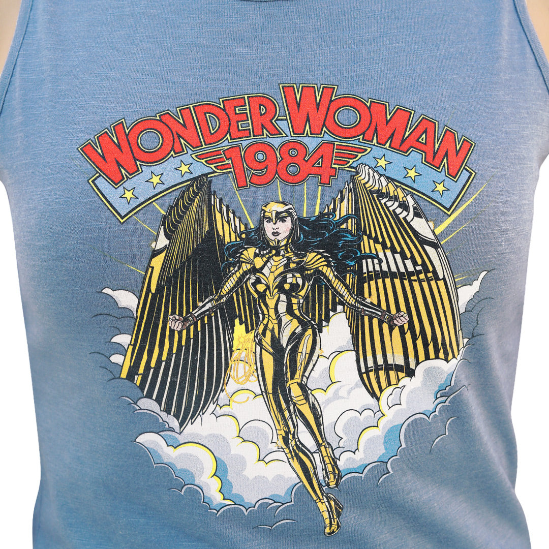 WOMEN'S WW84-RETRO COMIC-TANK TOP-2 PC PACK