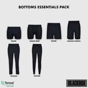 MEN'S BLACKBOX Bottoms Essentials Pack